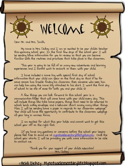 welcome letter this is a simple example of a welcome letter that can be sent to parents the letter includes expectations for the first day of school